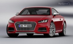 The upcoming TT won't cross the Pond to the U.S. until 2015 for the 2016 model year, the TT-RS won't become available until 2017….