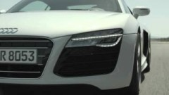 Footage of the Audi R8 Spyder.
