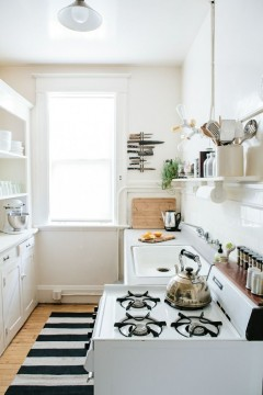 Check out there great 6 DIYs to make the most Cramped Kitchen Counters….