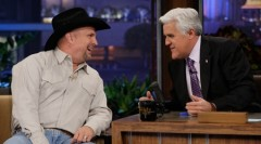 Garth Brooks and Jay Leno