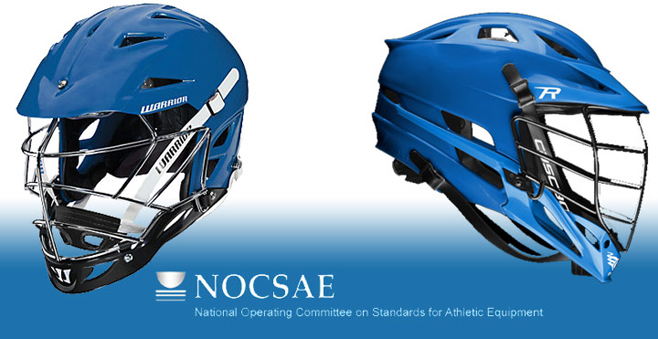 The National Operating Committee on Standards for Athletic Equipment found that two lacrosse helmet models currently available in the